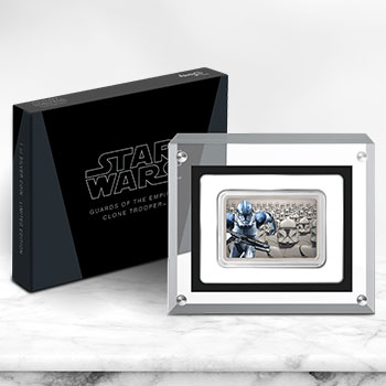 Clone Trooper Silver Coin Star Wars Silver Collectible