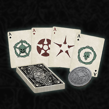 Court of the Dead Playing Card Set Court of the Dead Miscellaneous Collectibles