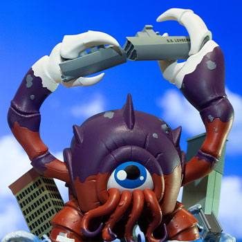 Crabthulu: Terror of the Deep! Sideshow Originals Designer Collectible Toy