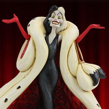 Cruella De Vil Disney Figurine