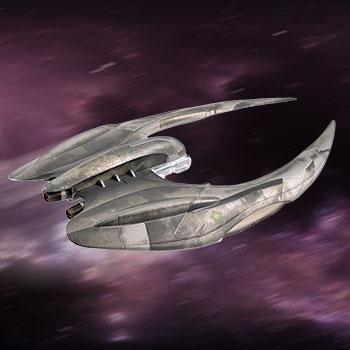 Cylon Raider Battlestar Galactica Model