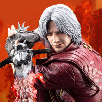 Dante Devil May Cry Statue