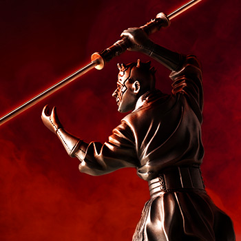 Darth Maul Figurine Star Wars Pewter Collectible