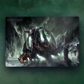 Death's Executioner Play Mat Court of the Dead Gaming Accessories