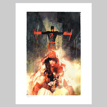 Elektric Connection Marvel Art Print