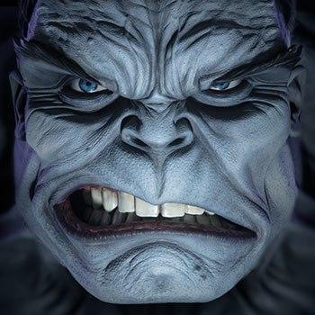 Gray Hulk Marvel Life-Size Bust