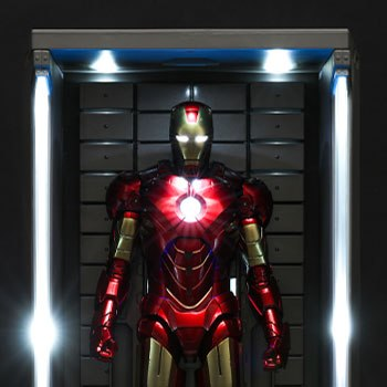 Hall of Armor Single Marvel Sixth Scale Figure Accessory
