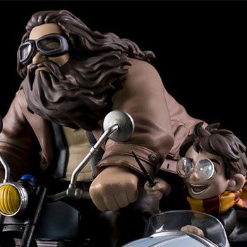 Harry Potter and Rubeus Hagrid Q-Fig Max Harry Potter Diorama
