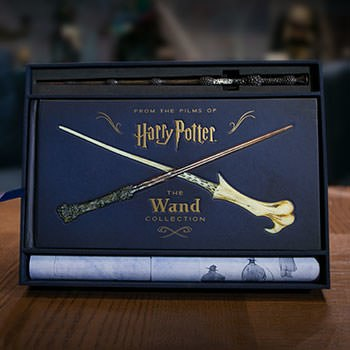 Harry Potter The Wand Collection Harry Potter Book