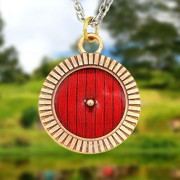 Hobbiton™ Door Necklace The Lord of the Rings Jewelry