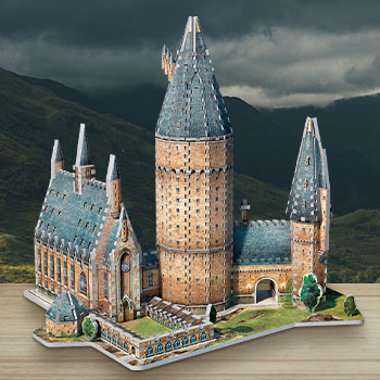 Hogwarts - Great Hall 3D Puzzle Harry Potter Puzzle