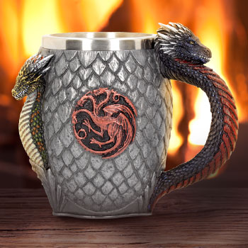 House Targaryen Tankard Game of Thrones Collectible Drinkware