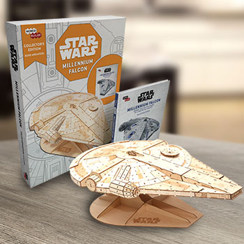 IncrediBuilds: Millennium Falcon Collector's Edition Star Wars Collectible Set