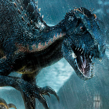 Indoraptor Jurassic World: Fallen Kingdom Statue