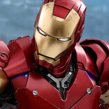 Iron Man Mark III Marvel Quarter Scale Figure