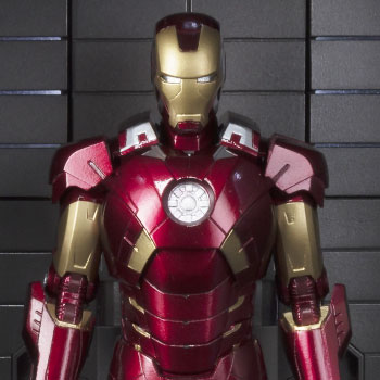 Iron Man Mark VII and Hall of Armor Marvel Collectible Set