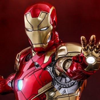 Iron Man Mark XLVI Concept Art Version Marvel Sixth Scale Figure