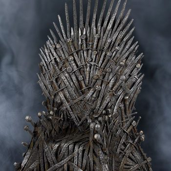 "Iron Throne 18"" Game of Thrones Replica"