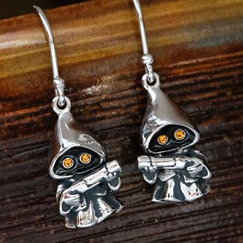 Jawa Earrings Star Wars Jewelry