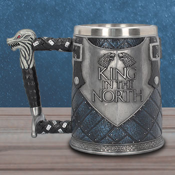 King in the North Tankard Game of Thrones Collectible Drinkware
