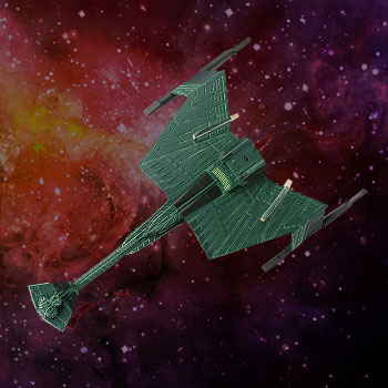 Klingon D7-Class Battle Cruiser Star Trek Model