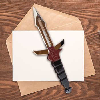 Klingon Dk Tahg Letter Opener Star Trek Office Supplies