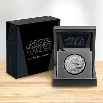 Lando Calrissian Silver Coin Star Wars Silver Collectible