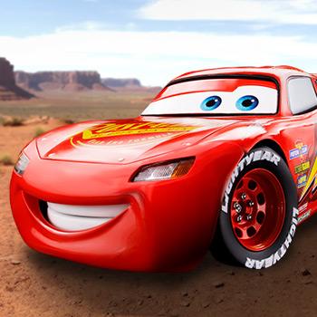 Lightning McQueen Disney Model
