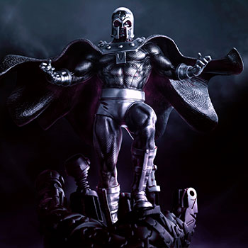 Magneto Dominant Figurine Marvel Pewter Collectible