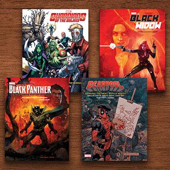 Marvel Comics Art Books Collection Marvel Book