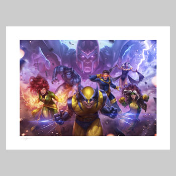 MARVEL Future Fight: X-Men Marvel Art Print