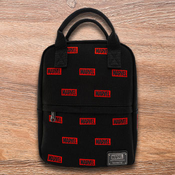 Marvel Logo AOP Mini Backpack Marvel Apparel