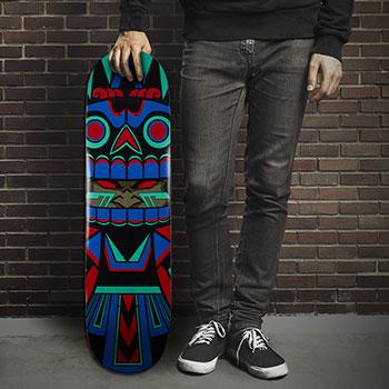 Mictlan Jesse Hernandez Skateboard Deck
