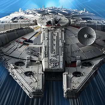 Millennium Falcon (Rise of Skywalker Version) Star Wars Model Kit