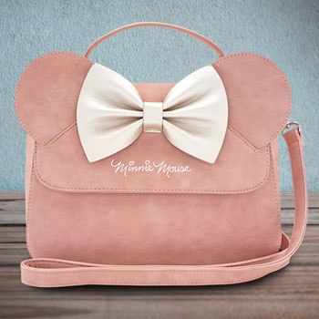 Minnie Ears and Bow Pink Crossbody Bag Disney Apparel