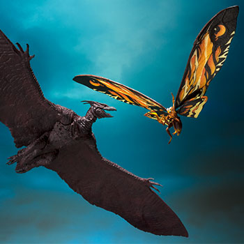 Mothra and Rodan Godzilla Collectible Set