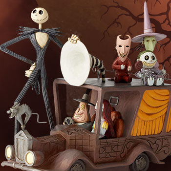 Nightmare Before Christmas Mayor Car Disney Figurine