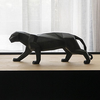 Panther (Black Matte) Figurine