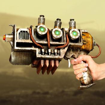 Plasma Pistol Fallout Prop Replica