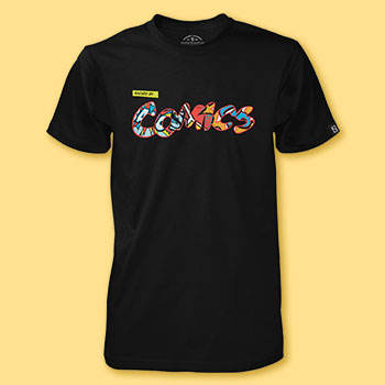 Raised by Comics T-shirt Sideshow Collectibles Apparel