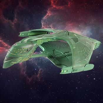 Romulan Warbird Star Trek Model