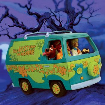 Scooby-Doo Mystery Machine Figurine