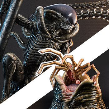 Scorpion Alien Deluxe Version Aliens Statue