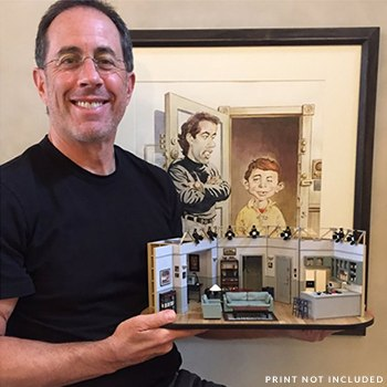 Seinfeld Set Seinfeld Scaled Replica