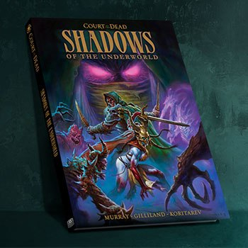 Shadows of the Underworld Graphic Novel Court of the Dead Book