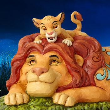 Simba & Mufasa Disney Figurine