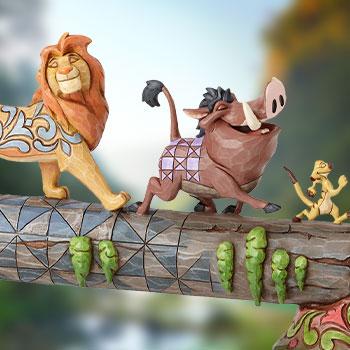 Simba, Timon & Pumbaa Disney Figurine