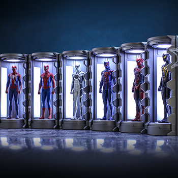 Spider-Man Armory Miniature Marvel Diorama