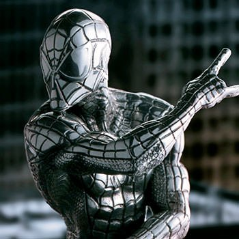 Spider-Man Webslinger Figurine Marvel Pewter Collectible