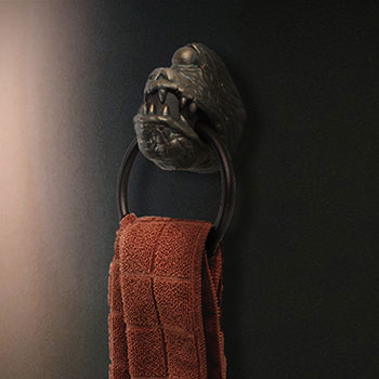 Star Wars Jabba's Dais Gargoyle Towel Ring Star Wars Scaled Replica